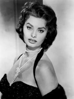 Portrait of Sophia Loren, c.1957 Poster at AllPosters