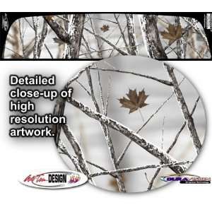 Bushwolf Snowstorm Camo Rear Window Graphic 1 for Chevrolet Avalanche