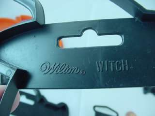 VTG Wilton Halloween Cookie Cutters Witch Black Cat