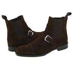 Donald J Pliner Mens Moritz Brown Suede Boots