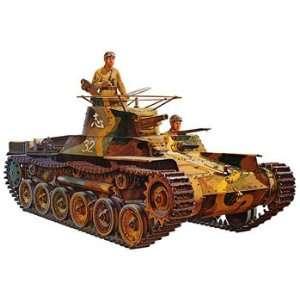 35 Japanese Tank Type 97 (Plastic Model Vehicle) Toys & Games