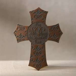 by Lisa Young   Bless This Home Wall Cross   15787: Home & Kitchen