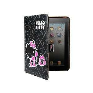 Leather Case Hello Kitty Theme for iPad 1 and iPad 2