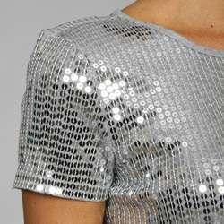 MICHAEL Michael Kors Sequin Shirt Dress