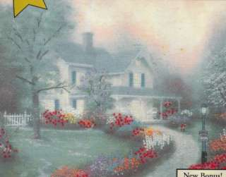 Candamar Thomas Kinkade Embellished Cross Stitch Kit ~ HOME IS WHERE