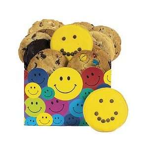 Happy Faces Cookie Gift Box  Grocery & Gourmet Food