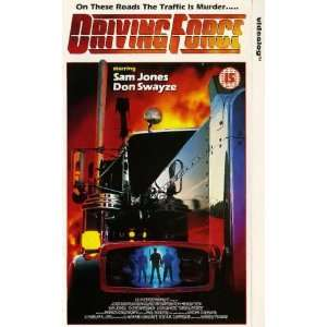 Driving Force [VHS] Sam J. Jones, Catherine Bach, Don Swayze