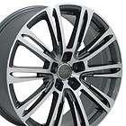 20 x 8.5 Gunmetal New A7 Wheels Fits Audi
