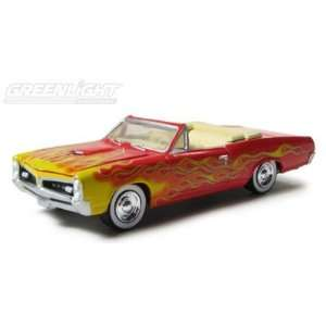 1967 Pontiac GTO Muscle Car Garage Up In Flames Series Diecast, 1/64