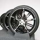 Alloy, Jack, Black/Chrome For Lincoln LS Wheels/Rims & New Omni Tires