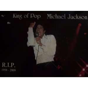 Michael Jackson 18X12 R.I.P. Memorial Poster Everything