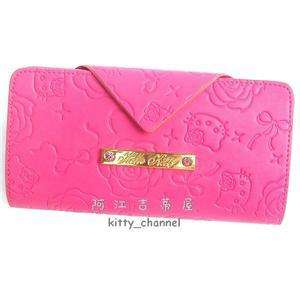 Sanrio Hello Kitty HAMANO Girls Thin Wallet Purse bag Pink