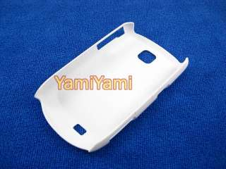 Plastic Hard Skin Cover Case For Samsung Galaxy Mini s5570 White