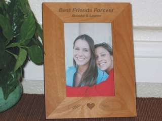 Best Friends Picture Frame Engraved Personalized Gift