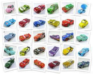 DISNEY PIXAR CARS DIECAST MEQUEEN MATTER CHICK HICKS HOLLEY CHILD BOY