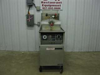 You are looking at a used Henny Penny natural gas pressure fryer.