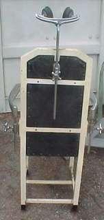 1920s Doctors Procedure/Exam Swivel Chair & IV Stand   SALE PRICE