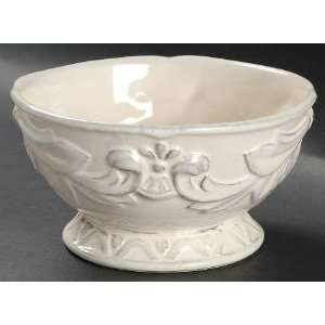 Corp Firenze Ivory Individual Ice Cream Dish, Fine China Dinnerware