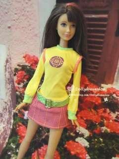 Barbie doll wear Pretty dress & random shoes set ~ FREE SHIP