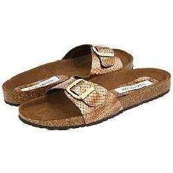 Steve Madden Lebra Bronze Snake Sandals