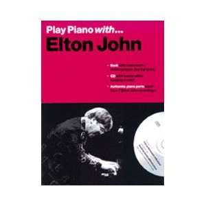 WB Play Piano With Elton John Book & CD Musical