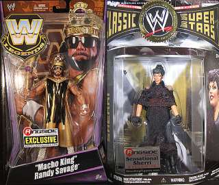 RINGSIDE EXCLUSIVES   WWE PACKAGE DEAL TOY WRESTLING FIGURES