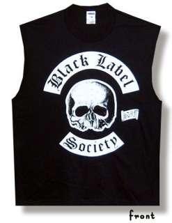 BLACK LABEL SOCIETY Heavy Metal SDMF Mens TANK TOP HUNK GYM T SHIRT M