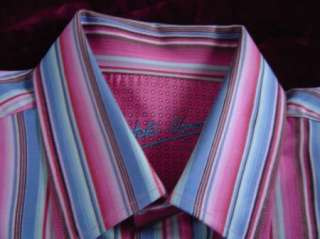 Bugatchi Uomo Mens Casual Shirt   sz. L