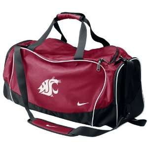Nike Washington State Cougars Crimson Brasilia Team Duffel Bag