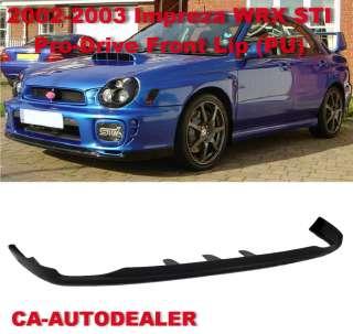 02 03 Subaru Impreza WRX STI Pro  Drive PD Pro D Front Bumper Lip Kit