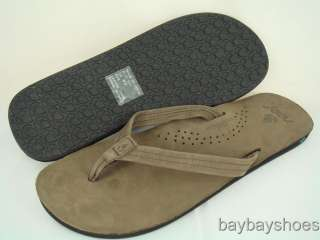REEF CLASSICA 2 BROWN THONG SANDALS WOMENS SIZE 6