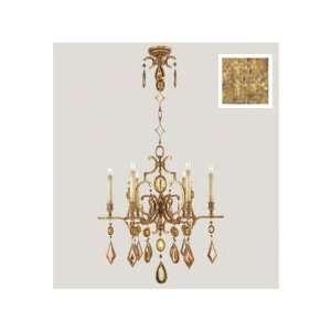 Fine Art Lamps 718240 1 Encased Gems 29 6 Light Chandelier Crystal