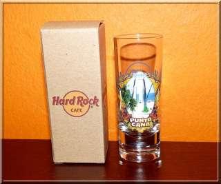 HARD ROCK CAFE Punta Cana City SHOT GLASS 2010