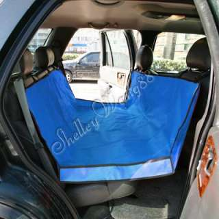 New Blue Cradle Dog Car Seat Cover Pet Mat Blanket