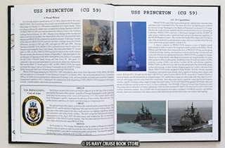 USS PRINCETON CG 59 WESTPAC IRAQI CRUISE BOOK 2003