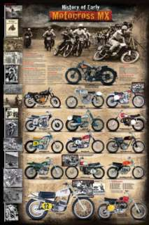 Motocross MX The Early Years 1924   1969 Posters at AllPosters