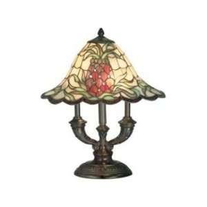 Dale Tiffany TT70710 Isabella Art Glass 2 Light Table Lamp