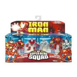 Iron Man Movie Toy Super Hero Squad Battle Pack Hall of