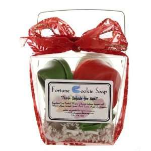 Christmas Morning Take out box Soap Gift Set Handmade in USA Beauty