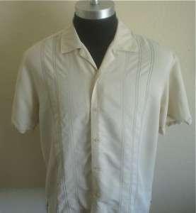 50s Rockabilly Lounge Stitched Retro Bowling shirt L