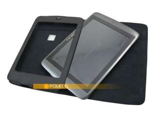 Black Newest Stand Folio Leather Case Cover For 8 Archos 80 G9 Tablet