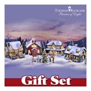 Hawthorne Village Thomas Kinkade Village Christmas Town Square Gift