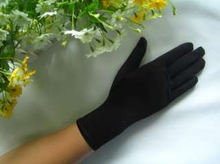 AU*9 Wrist Length Fingered Wedding/Prom Gloves #GV59