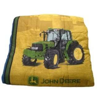 John Deere Bedding Denim Collection Comforter, Queen Size at