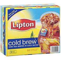 Lipton® Cold Brew Iced Tea   66 ct.