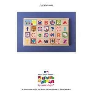 Chicago Cubs Baby/Childrens Team Mascot Alphabet Blocks
