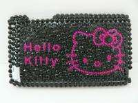 hello kitty black bling hard Case Fit iPod Touch 4G 4th