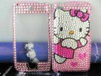 HELLO KITTY Rhinestone Crystal handmade FULL Case for Apple iPod Touch