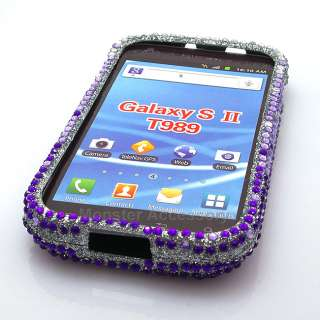 Bling Hard Case Cover Samsung Galaxy S 2 T Mobile T989 Hercules