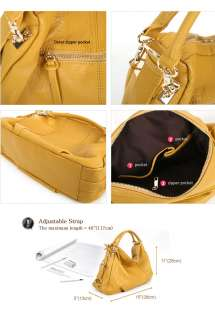 New GENUINE LEATHER purses handbags Totes HOBO SHOULDER Bag [WB1057